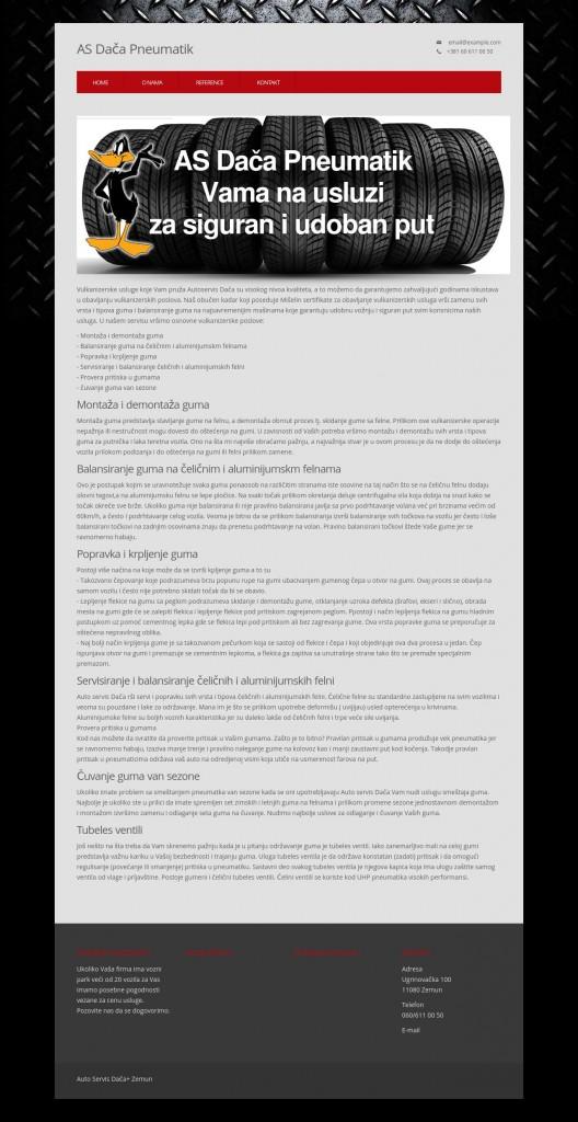 web sajt vulkanizer dača