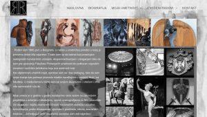 Rados skulptor mala slika sajta